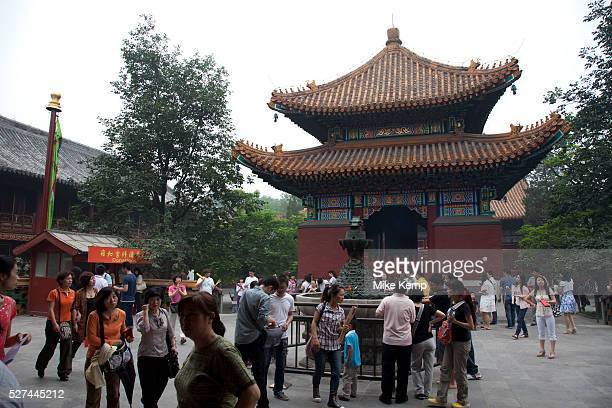 The Yonghe Temple also known as the Palace of Peace and Harmony Lama Temple the Yonghe Lamasery or popularly the Lama Temple is a temple and...
