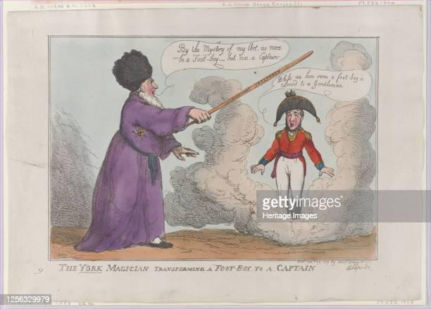 The York Magician Transforming a FootBoy to a Captain February 25 1809 Artist Thomas Rowlandson