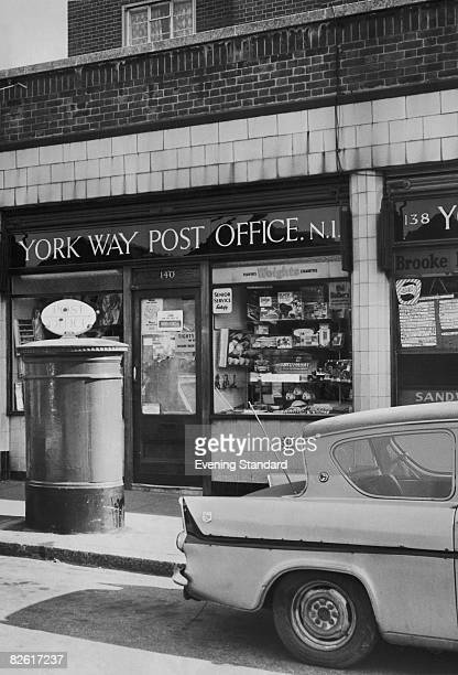 The York Way Post Office in Islington London 5th March 1968