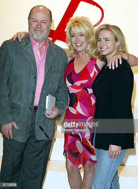 The Young and the Restless Actress Melody Thomas Scott with her husband ED Scott and daughter Jennifer Scott who celebrated her 25th Anniversay on...