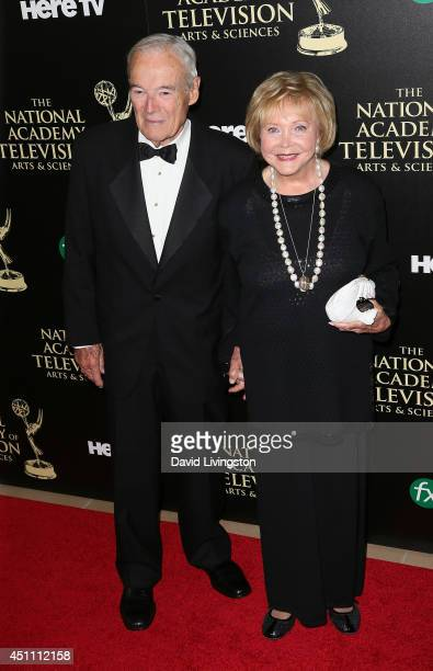 The Young and the Restless cocreator Lee Phillip Bell and guest attend the 41st Annual Daytime Emmy Awards at The Beverly Hilton Hotel on June 22...