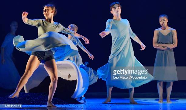 July 17: The Young Associates Company performing 'Land' during TOGETHER NOT THE SAME at Sadler's Wells Theatre, in London, England, 17th July 2019....