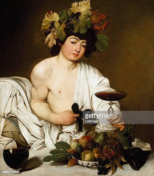 The Young Bacchus by Caravaggio 1589 Oil on canvas 95 x 85 cm Galleria degli Uffizi Florence Italy