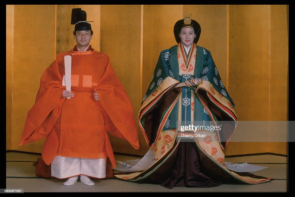 OFFICIAL PHOTOGRAPHS: WEDDING OF CROWN PRINCE HIRO : News Photo