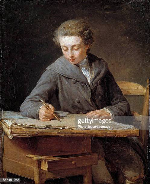 The Young Draughtsman portrait of Carle Vernet at the age of 14 Carle Vernet French painter student of Nicolas Bernard Lepicie who painted this...