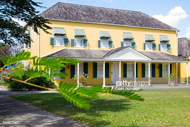 The young George Washington and his ailing brother Lawrence resided in this historic plantation house also known as Bush Hill House for two months in...