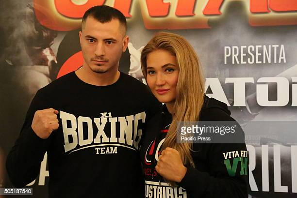 The young Russian Thai boxing star Anastasia Yankova Oktagon Kickboxing President Carlo Di Blasi was joined in Turin this afternoon by several of the...