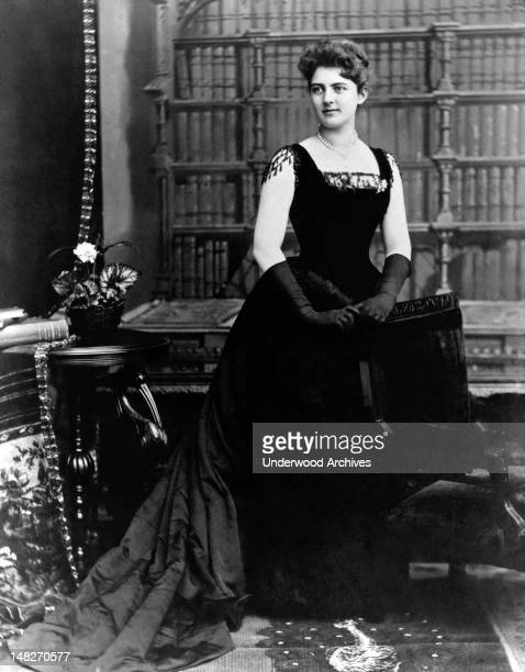 The youngest First Lady in history twentyone year old Frances Folsom Cleveland Washington DC 1886