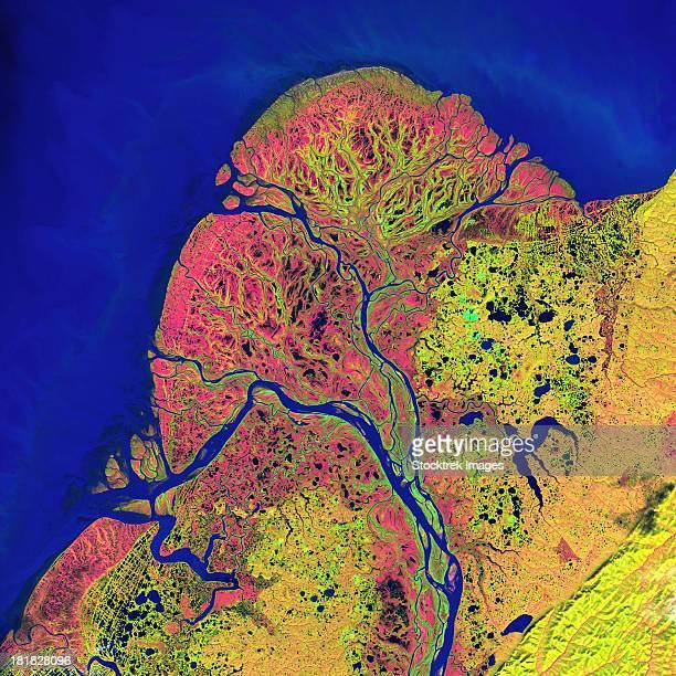 The Yukon Delta in southwest Alaska.