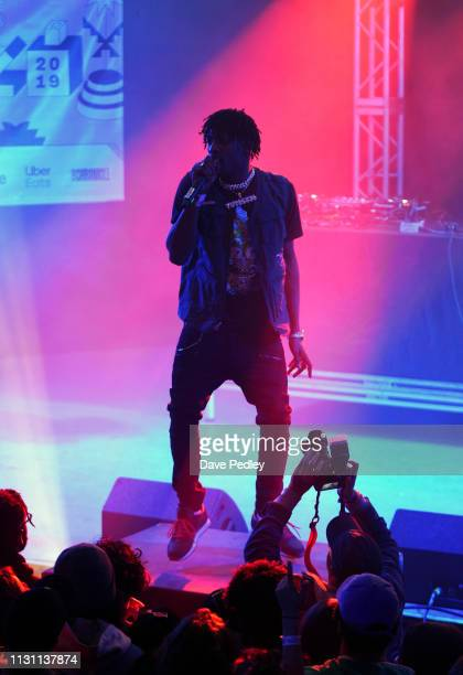 The Yutes peform onstage at DNES Marketing during the 2019 SXSW Conference and Festivals at Stubbs on March 16 2019 in Austin Texas