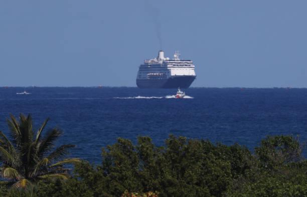 FL: Zaandam And Rotterdam Cruise Ships Carrying Coronavirus Patients Dock In Florida