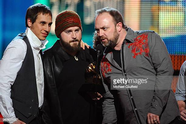 The Zac Brown Band onstage at the 52nd Annual GRAMMY Awards held at Staples Center on January 31 2010 in Los Angeles California