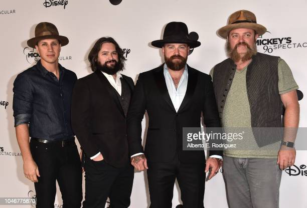 The Zac Brown Bandattends Mickey's 90th Spectacular at The Shrine Auditorium on October 6 2018 in Los Angeles California