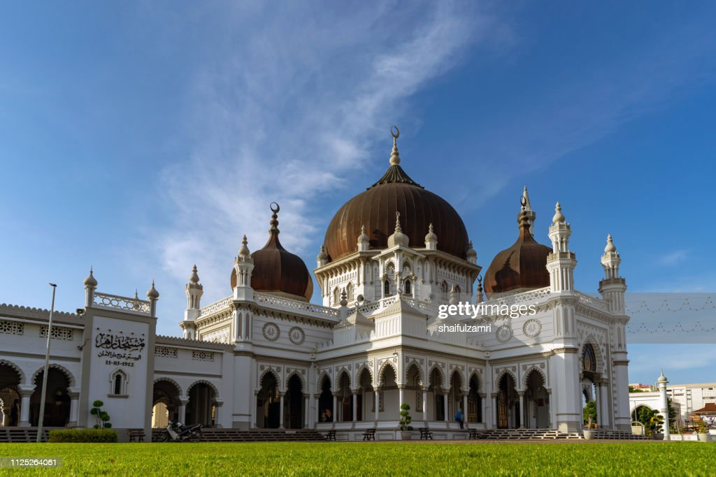 The Zahir Mosque is a mosque in Alor Setar, Malaysia. : Stock Photo