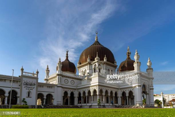 the zahir mosque is a mosque in alor setar, malaysia. - shaifulzamri 個照片及圖片檔
