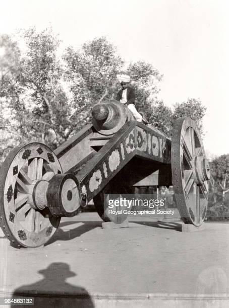 The Zamzama Great Gun at Lahore Pakistan 1926
