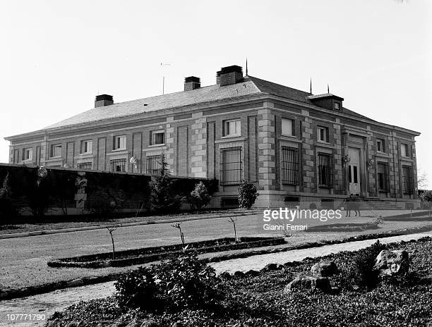The Zarzuela Palace residence of the Princes Juan Carlos of Borbon and Sofia of Greece Madrid Spain