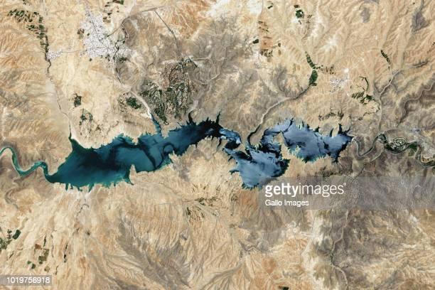 The Zayandeh Rud Dam also known as Zayanderud Dam or Zayandeh Roud Dam located on the Zayandeh River in Iran