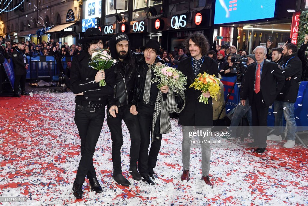 Sanremo 2019 - Preview Red Carpet : News Photo