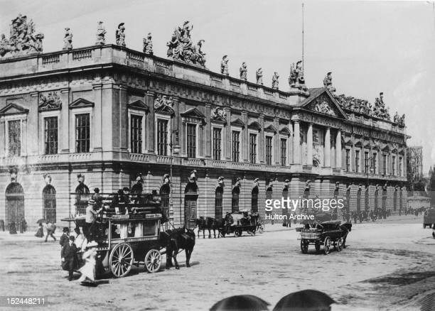 The Zeughaus or Arsenal in Berlin Germany circa 1890
