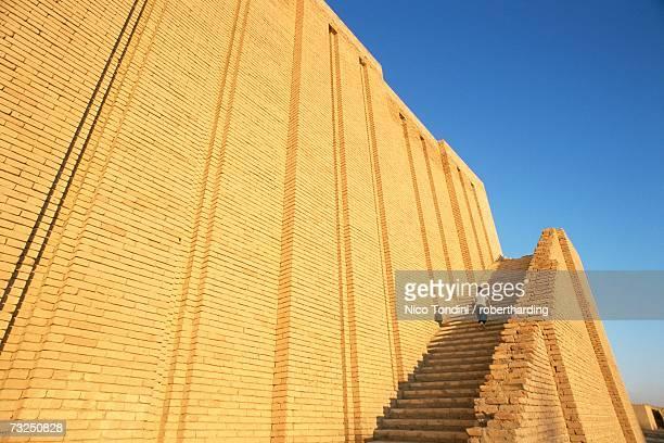 the ziggurat, agargouf, iraq, middle east - ziggurat stock photos and pictures