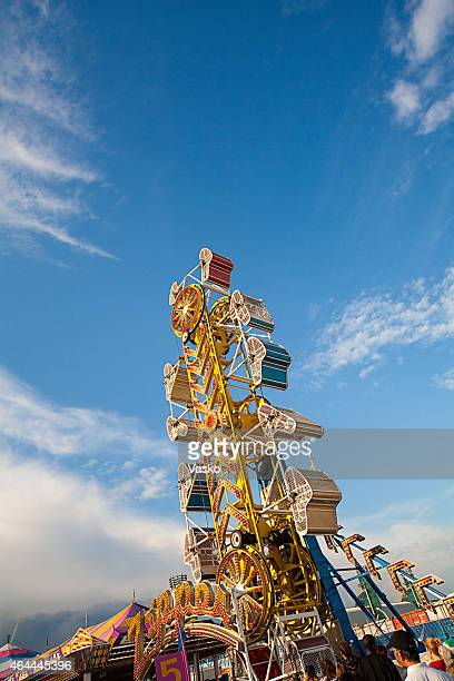 the zipper - canadian national exhibition stock photos and pictures