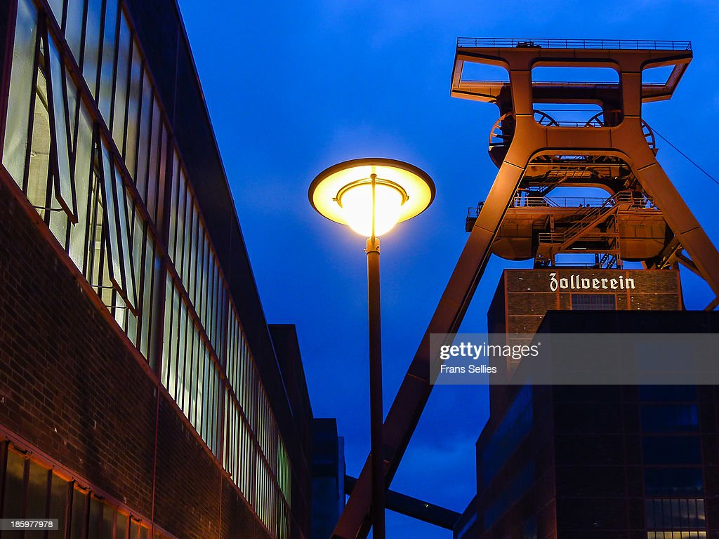 Zollverein Coal Mine Industrial Complex : News Photo