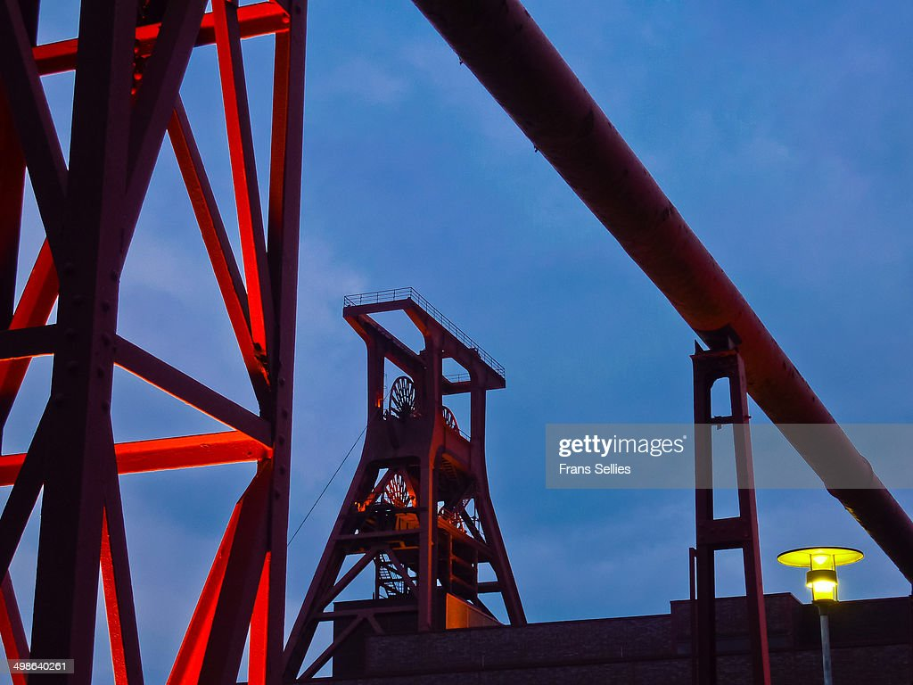 Zollverein Coal Mine Industrial Complex : News Photo