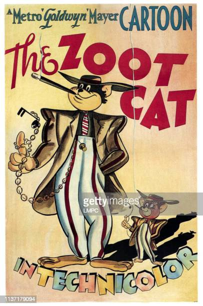 The Zoot Cat, poster, from left: Tom and Jerry, 1944.
