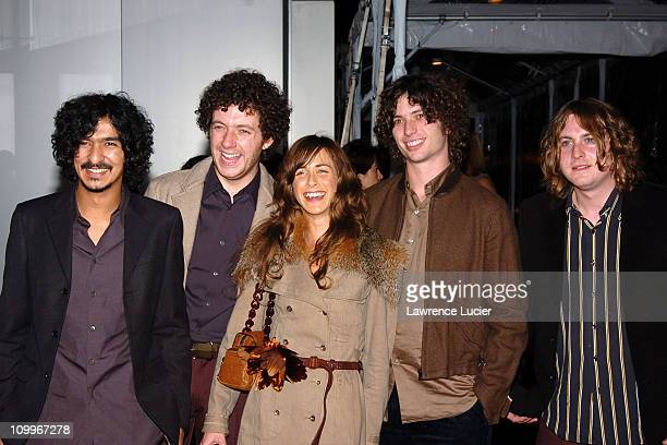 The Zutons during The Museum of Modern Art Re-Opens in Midtown Manhattan at Museum of Modern Art in New York, New York, United States.