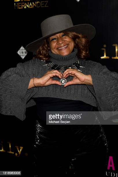 """Thea Austin attends The Artists Project visits """"ily."""" Video Music Premiere by David Hernandez on May 19, 2021 in Los Angeles, California."""