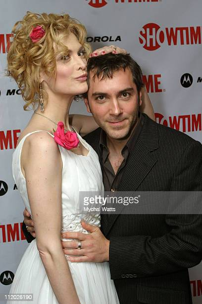 Thea Gill and Scott Lowell at the Motorola Sponsored New York Premiere of Showtimes Queer as Folk Event