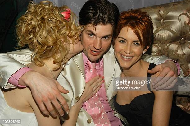 Thea Gill Gale Harold and Michelle Clunie at the Motorolasponsored New York Premiere of Showtime's 'Queer as Folk'