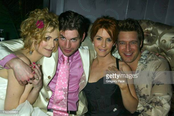 Thea Gill Gale Harold Michelle Clunie and Robert Gant