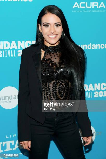 Thea Trinidad attends the Surprise Screening Of Fighting With My Family during the 2019 Sundance Film Festival at The Ray on January 28 2019 in Park...
