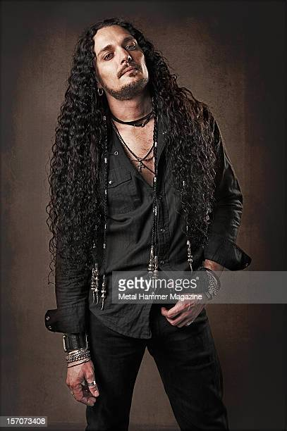 ZP Theart vocalist of heavy metal band I AM I and former vocalist of power metal band DragonForce Photographed during a portrait shoot for Metal...