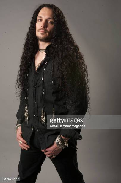 Theart vocalist of heavy metal band I AM I and former vocalist of power metal band DragonForce Photographed during a portrait shoot for Metal Hammer...