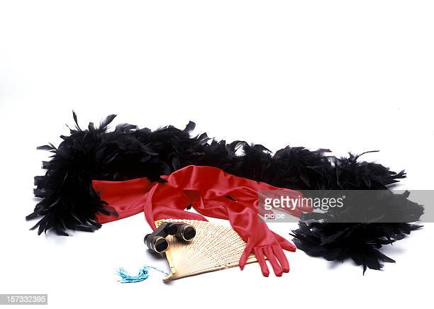theater accessories - evening glove stock pictures, royalty-free photos & images