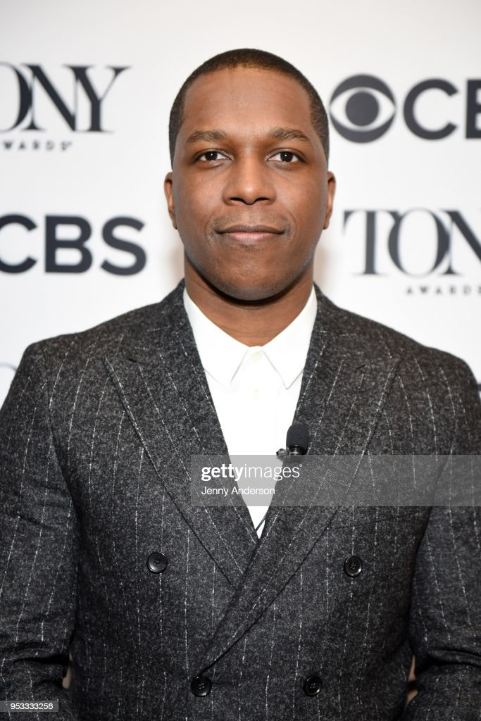 Theater actor Leslie Odom Jr. attends the 2018 Tony Awards Nominations Announcement at The New York Public Library for the Performing Arts on May 1, 2018 in New York City.
