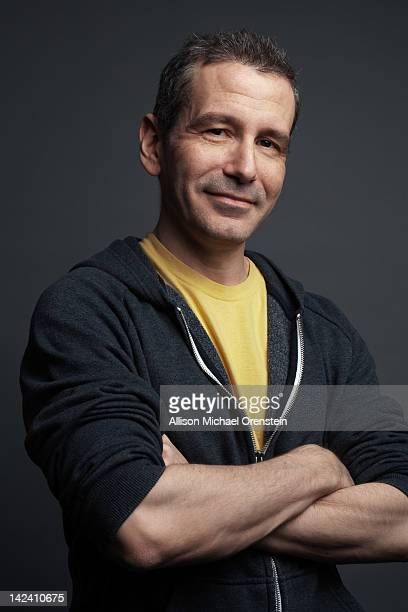 Theater director and stage actor David Cromer is photographed at the Barrow Street Theater for Wall Street Journal on February 7 2012 in New York City