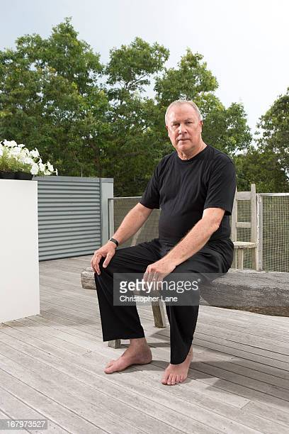 Theater director Robert Wilson is photographed for The London Times on August 1 2012 in Watermill New York