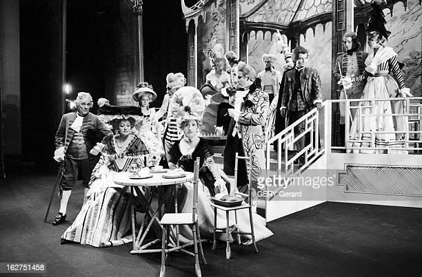 'L'Ecole De La Medisance' By Richard Brinsley Sheridan Paris 17 mai 1962 la pièce de théâtre 'L'Ecole de la médisance' de Richard Brinsley Sheridan...