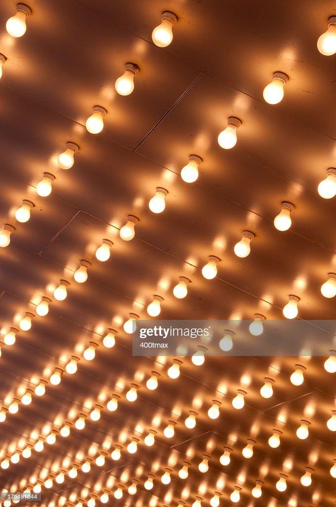marquee lighting. Theater Marquee Lights Wall Art. Photo ID 175491044 Lighting