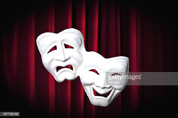 theater masks - mask joke stock pictures, royalty-free photos & images