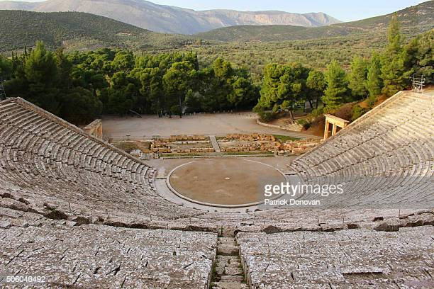 Theater of Epidaurus, Argolis, Greece