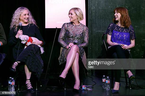 "Theater"" -- Pictured: Carol Kane, Jane Krakowski, Ellie Kemper, June 8, 2015 in Los Angeles --"