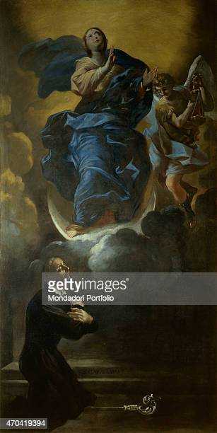 A Theatine bishop split the Immaculate Conception by Giovanni Lanfranco 16381646 17th Century oil on canvas Italy Campania Naples Church of Saints...