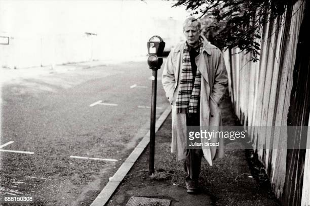 Theatre and opera director actor author television presenter humourist and medical doctor Jonathan Miller is photographed in London England