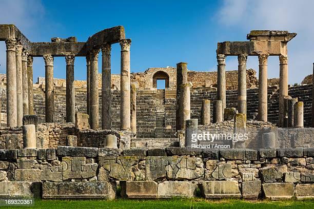 Theatre at Dougga Roman monument