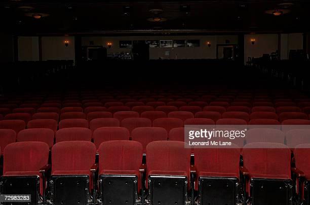 Theatre auditorium and seating